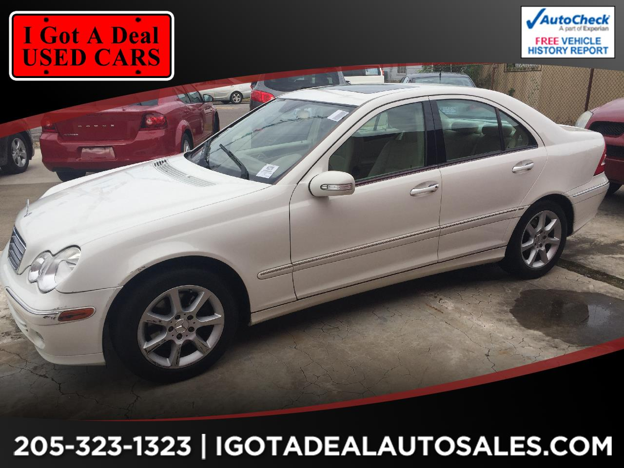 2007 Mercedes-Benz C-Class 4dr Sdn 3.0L Luxury RWD