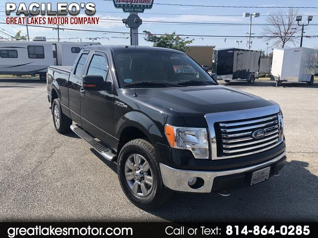 "2010 Ford F-150 4WD SuperCab 145"" XLT"