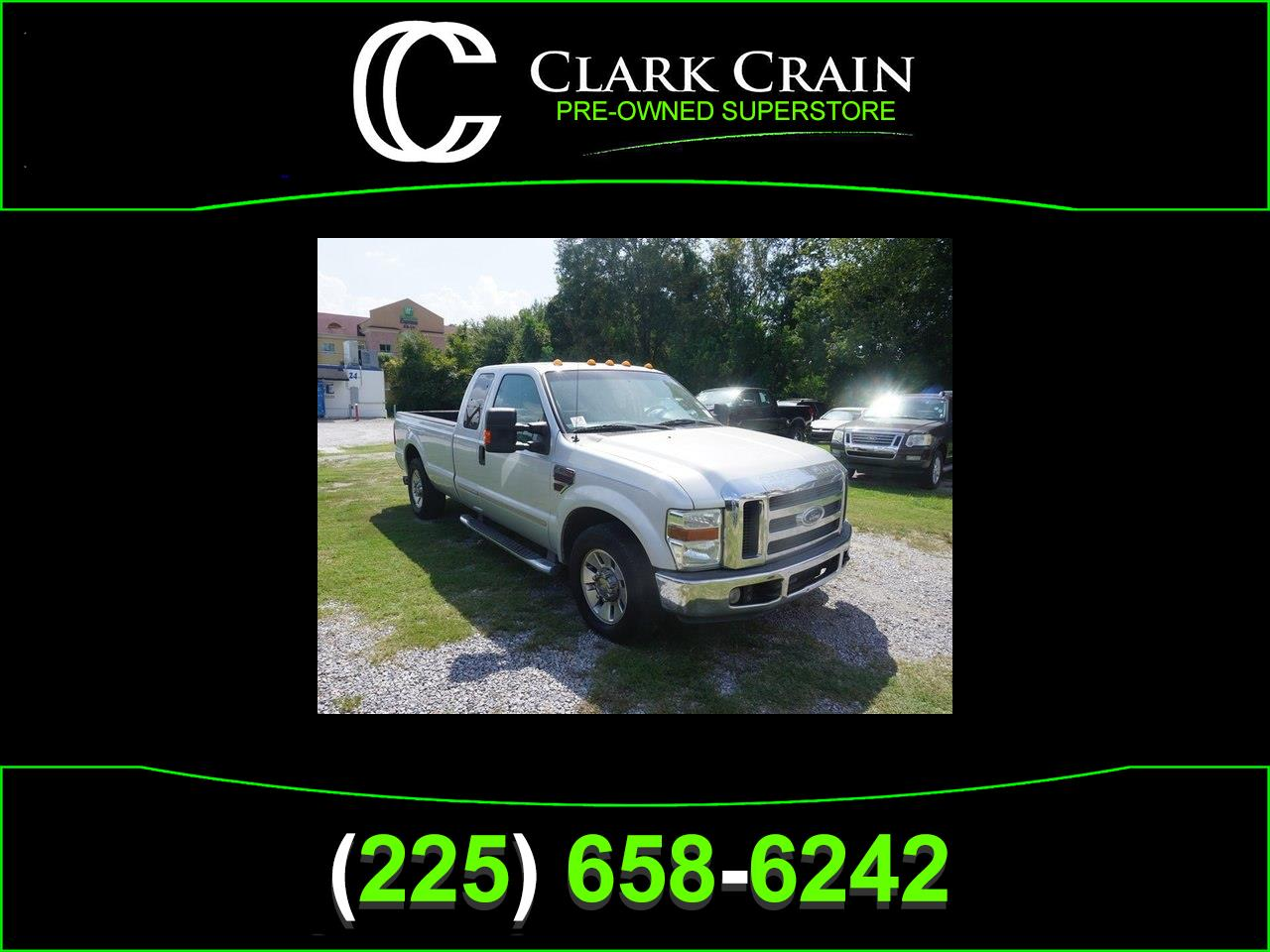 2008 Ford F-250 SD XLT SuperCab Long Bed 2WD