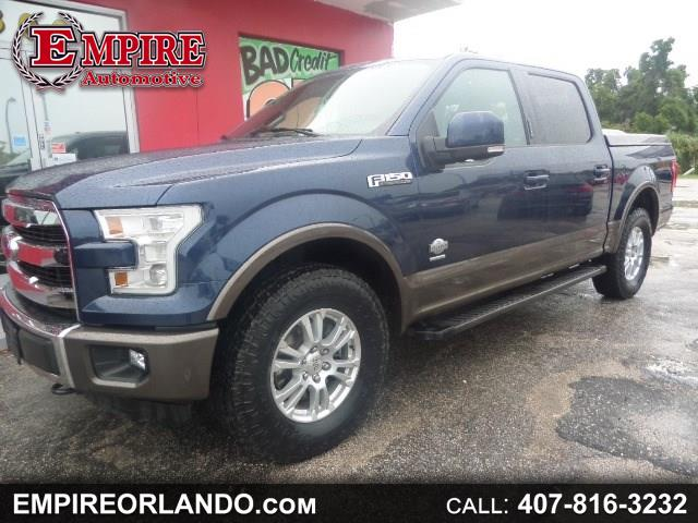 "2015 Ford F-150 4WD SuperCrew 145"" King Ranch"