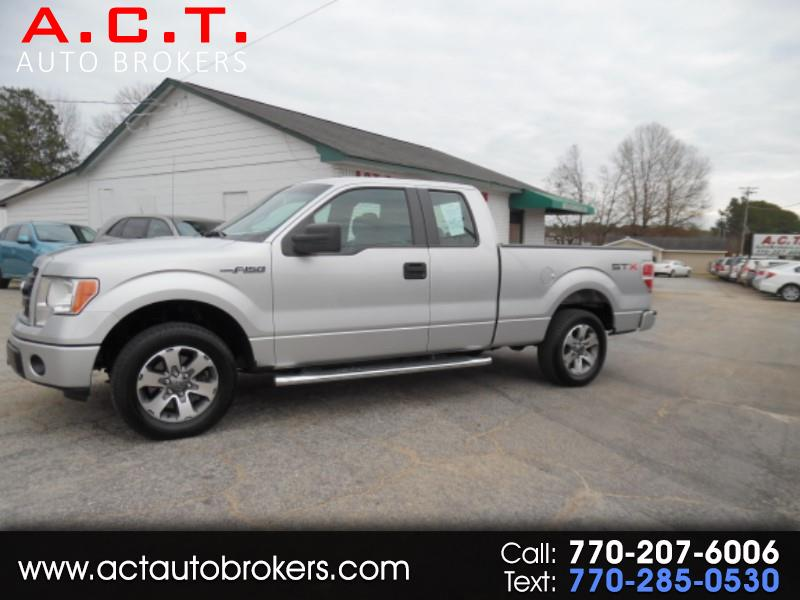 """2013 Ford F-150 2WD SuperCab 145"""" Lariat"""