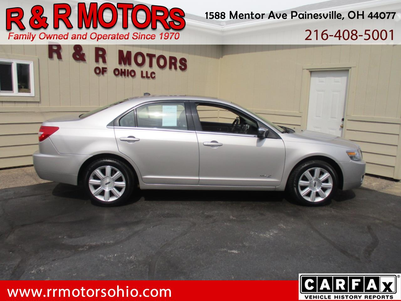 2007 Lincoln MKZ AWD