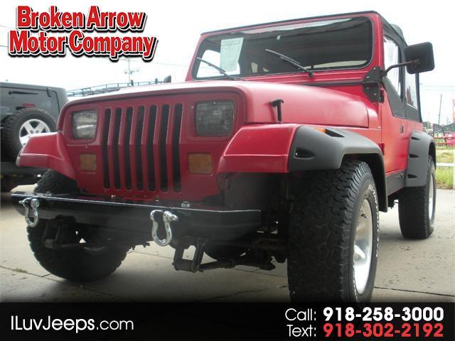 1989 Jeep Wrangler Islander Soft Top
