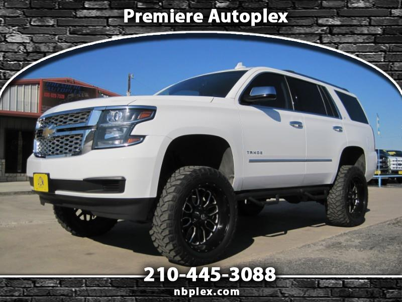 "2017 Chevrolet Tahoe LT 4x4 6"" Lift 22"" Fuel's 35"" M/T's Loaded Leather"
