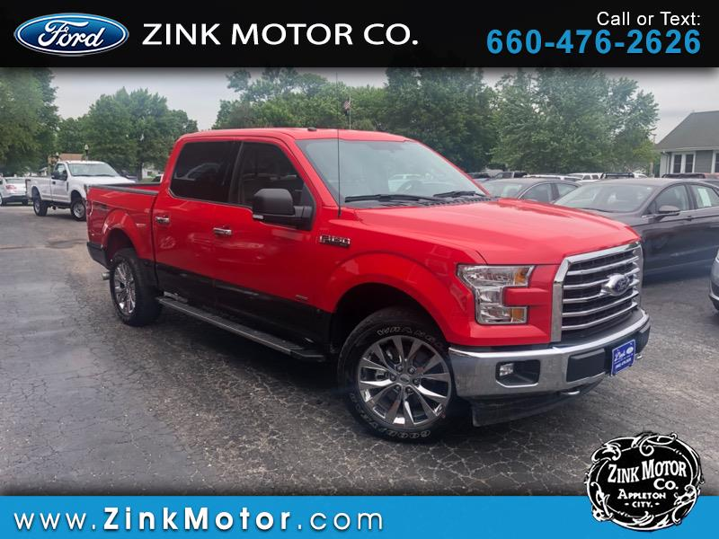 "2017 Ford F-150 4WD SuperCrew 139"" FX4"