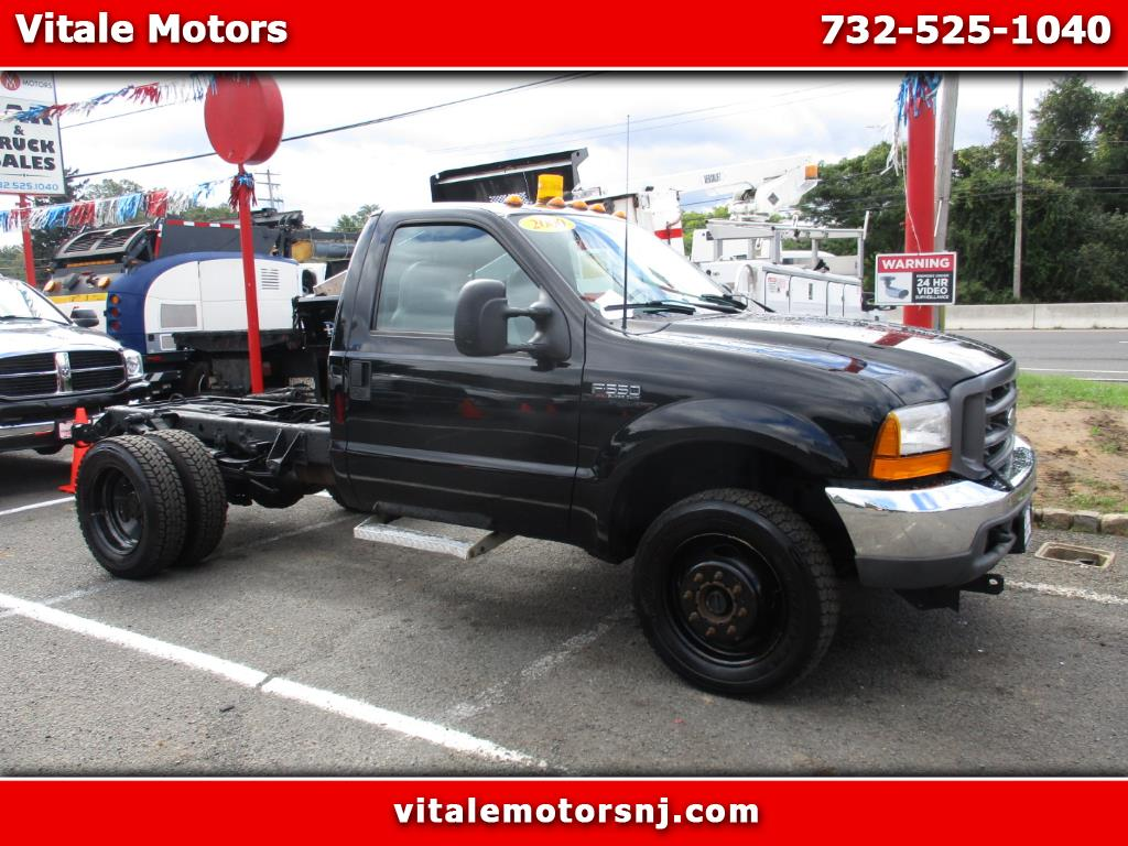 2000 Ford F-550 CAB & CHASSIS 7.3L DIESEL 4X4 45K MILES