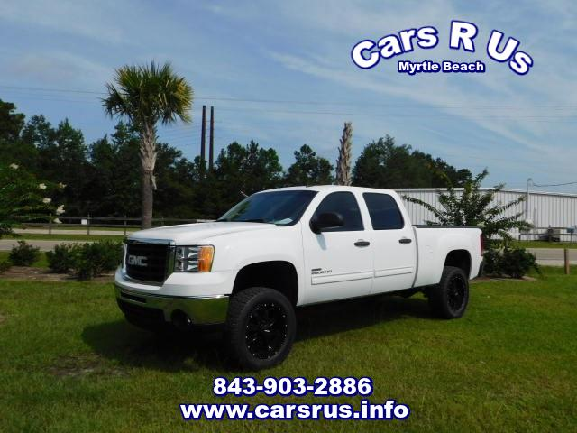 2007 GMC Sierra 2500HD SLT Crew Cab Short Bed 4WD