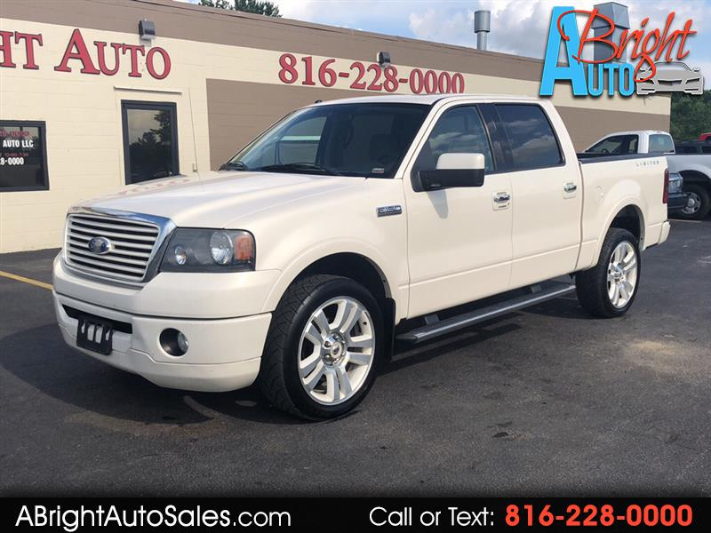 2008 Ford F-150 SUPERCREW LIMITED 4X4