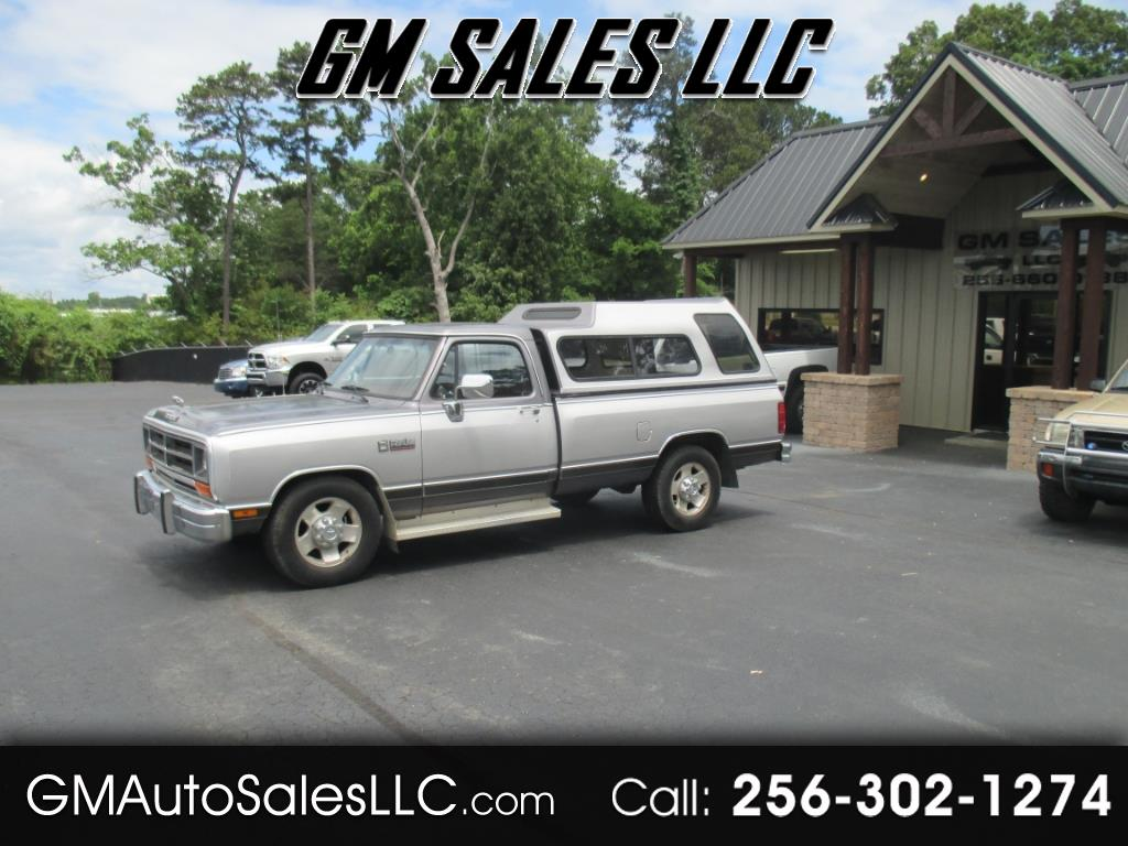 1989 Dodge 3/4 Ton Trucks D250 Sweptline
