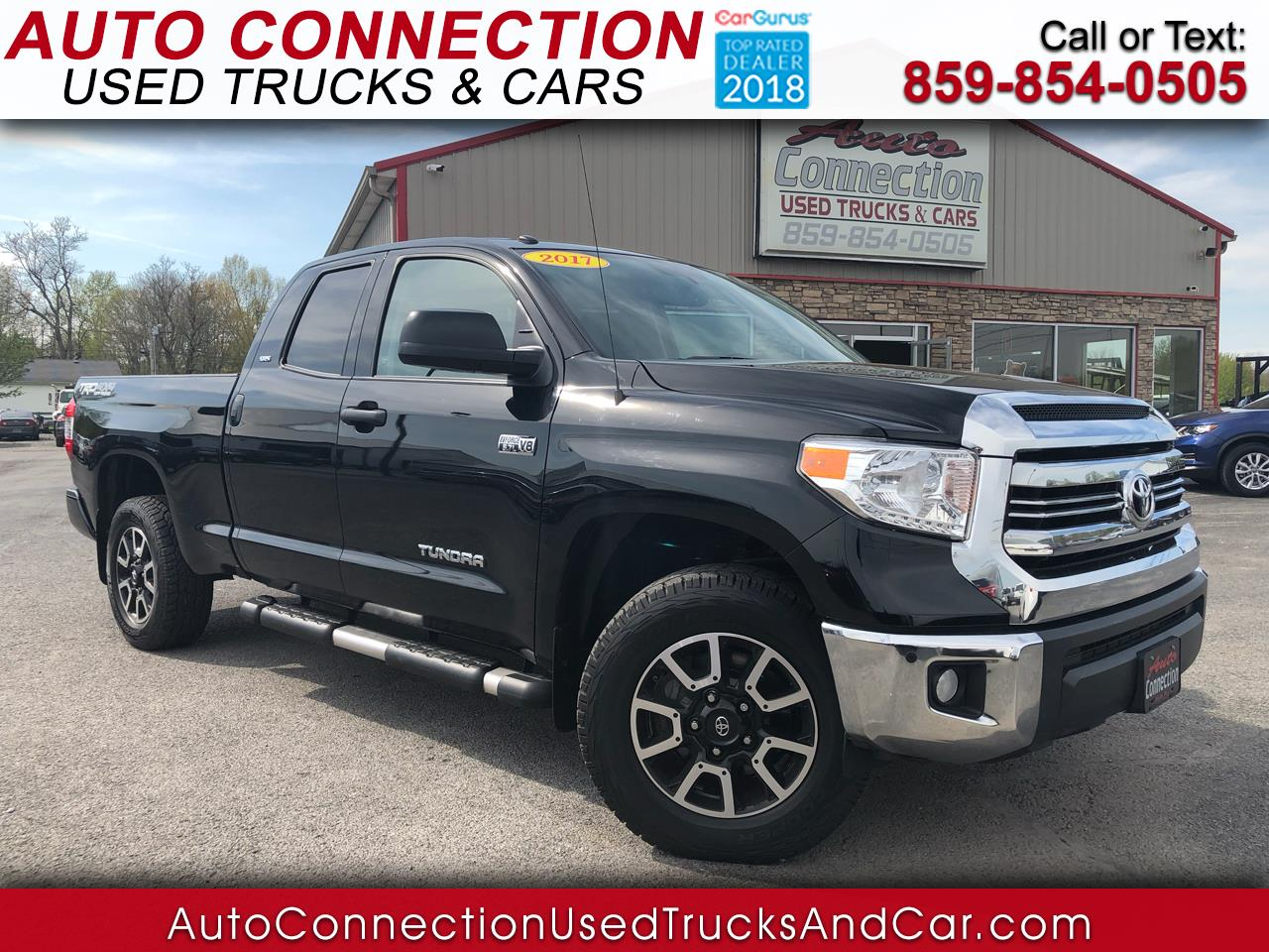 2017 Toyota Tundra 4WD TRD Pro Double Cab 6.5' Bed 5.7L (Natl)