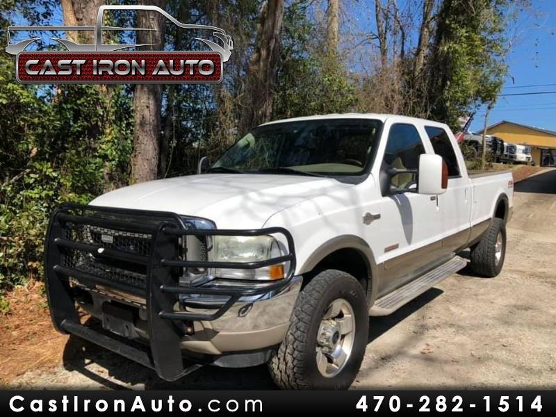 2004 Ford F-350 SD King Ranch Crew Cab Long Bed 4WD