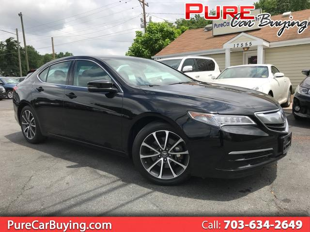 2015 Acura TLX 4dr Sdn FWD V6 **Tecnology Package//Financing Avai
