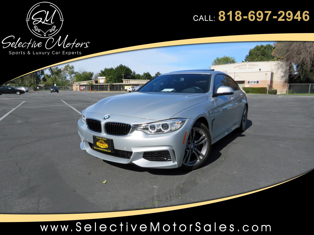 2015 BMW 4-Series 428i Gran Coupe M-Sport