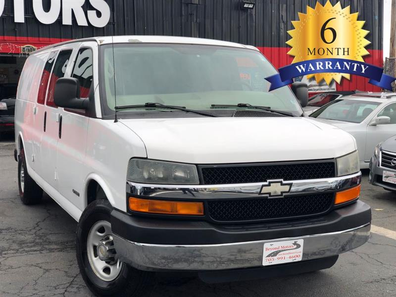 2005 Chevrolet Express EXTENDED