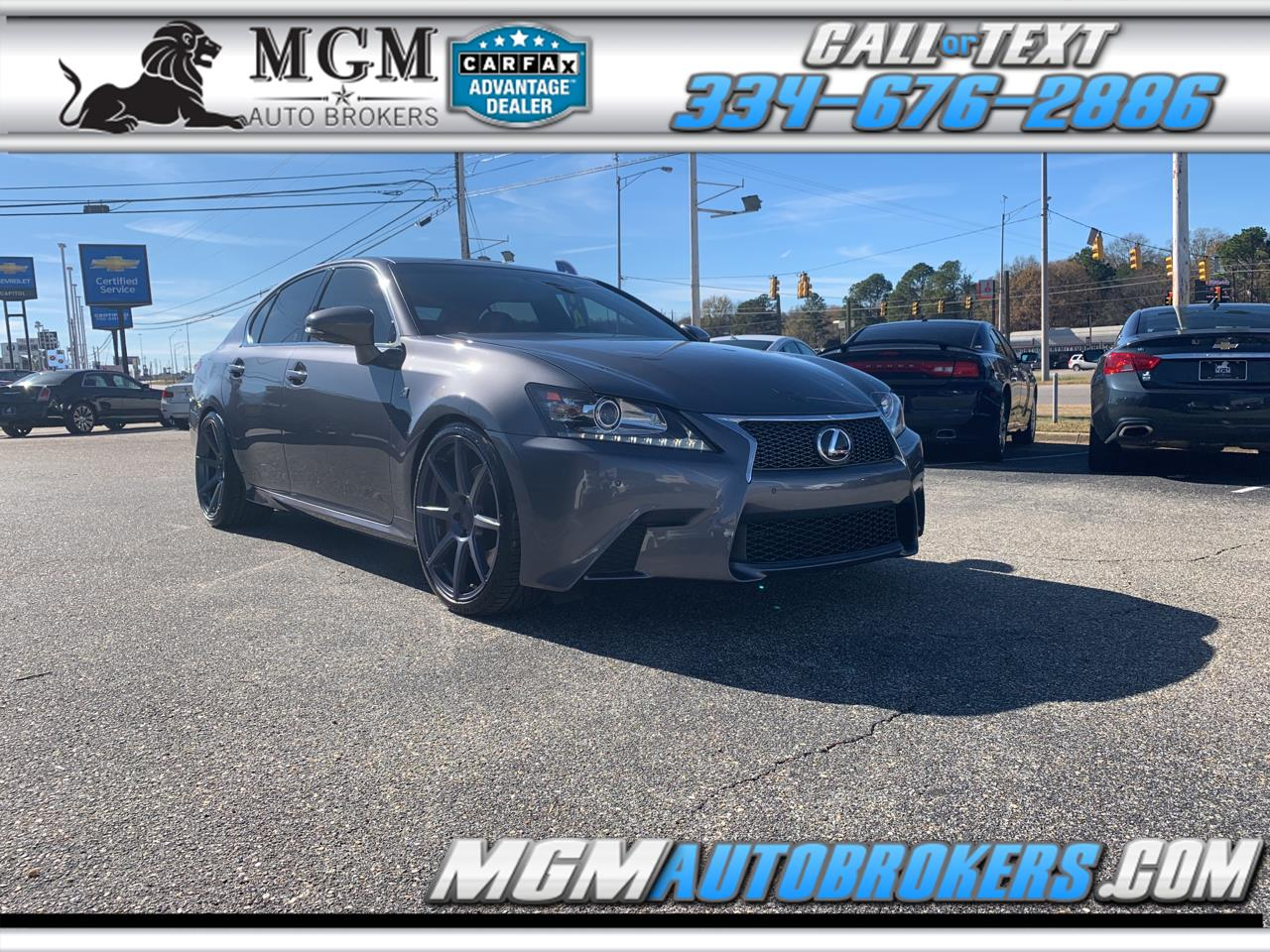 2014 Lexus GS 350 4dr Sdn Crafted Line RWD
