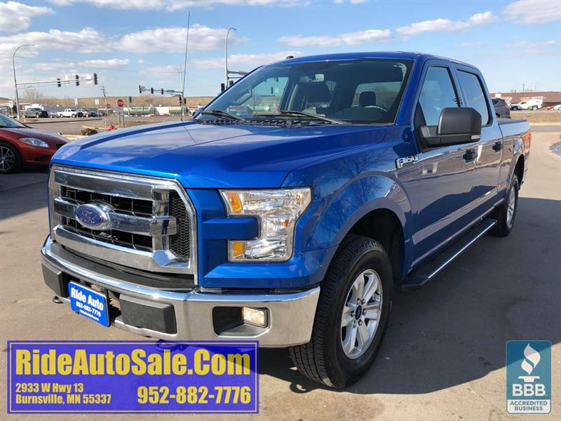 2016 Ford F-150 XLT, Crew cab, 4x4 FX4, 5.0 V8, very clean !