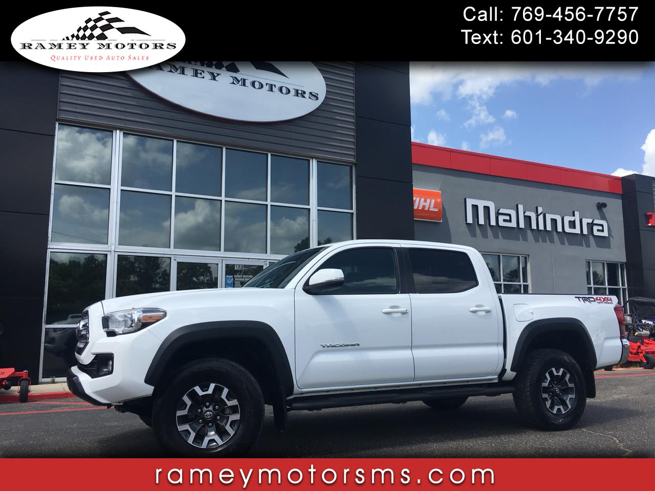 2016 Toyota Tacoma 4WD DOUBLE CAB TRD OFFROAD