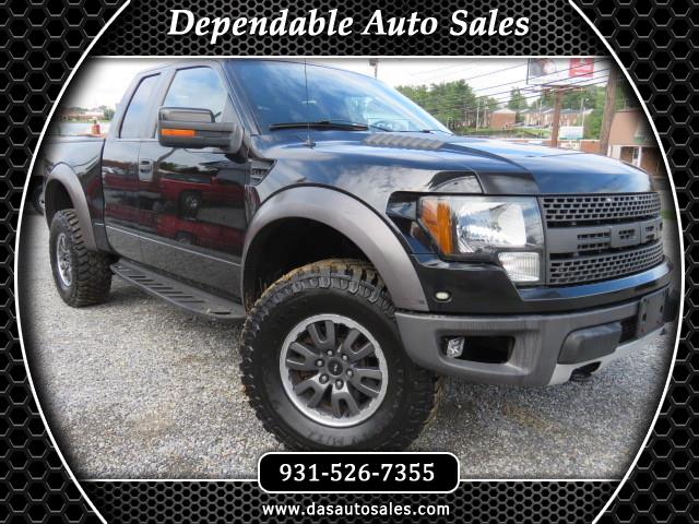 2010 Ford F-150 Raptor SuperCrew 4WD