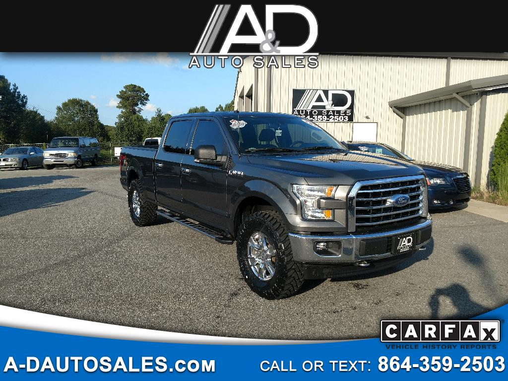 "2017 Ford F-150 4WD SuperCrew 145"" FX4"