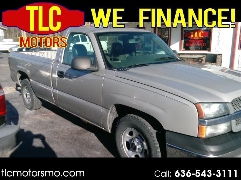 """2004 Chevrolet Silverado 1500 2WD Reg Cab 133.0"""" Work Truck"""