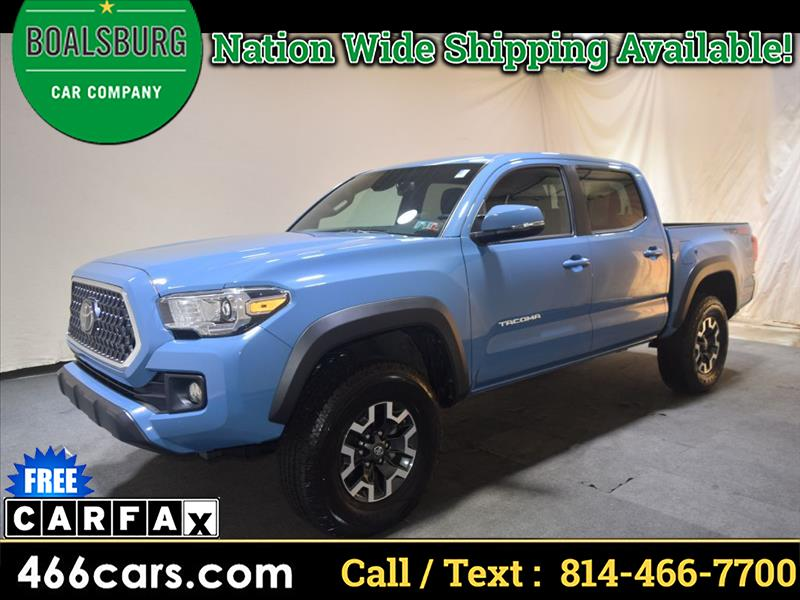 2019 Toyota Tacoma TRD Off Road Double Cab 5' Bed V6 4x4 AT (Natl)
