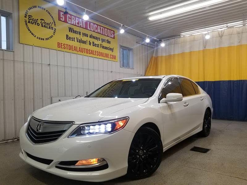 2014 Acura RLX 6-Spd AT w/Advance Package
