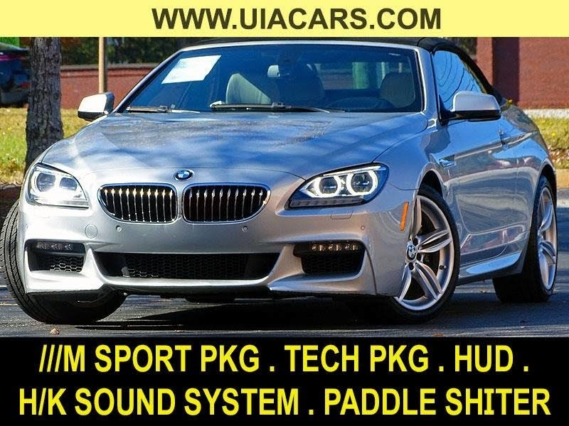 2015 BMW 6-Series 640i Convertible