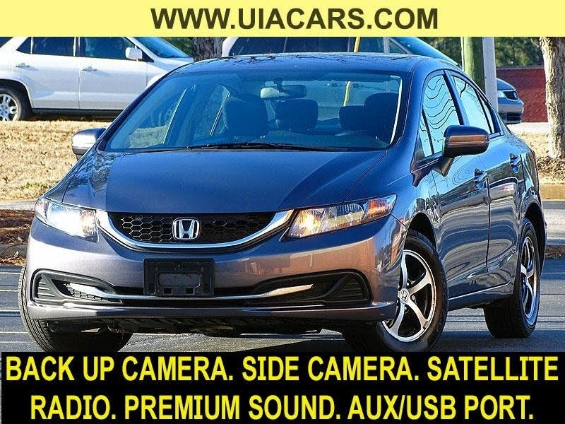 2015 Honda Civic SE Sedan CVT