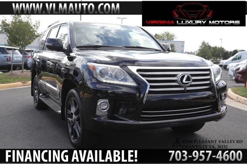 2015 Lexus LX 570 Luxury Package