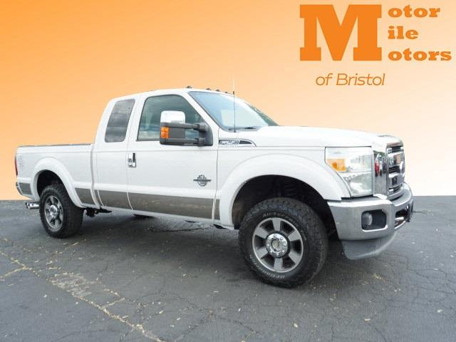 2011 Ford F-250 SD Lariat SuperCab Short Bed 4WD