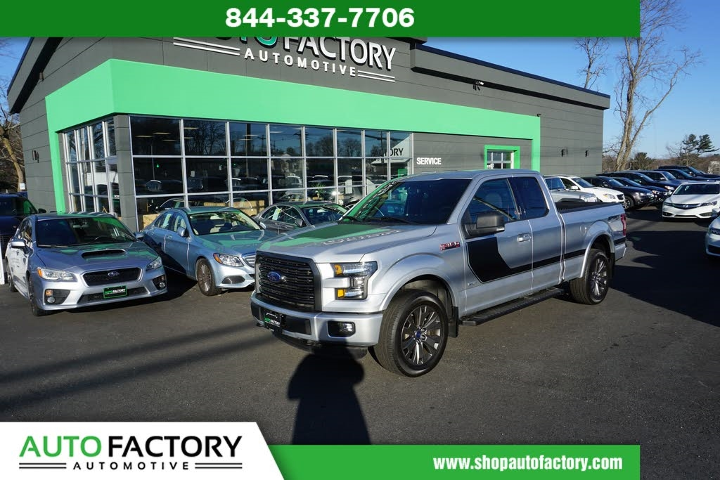 2016 Ford F-150 SUPER CAB SPORT