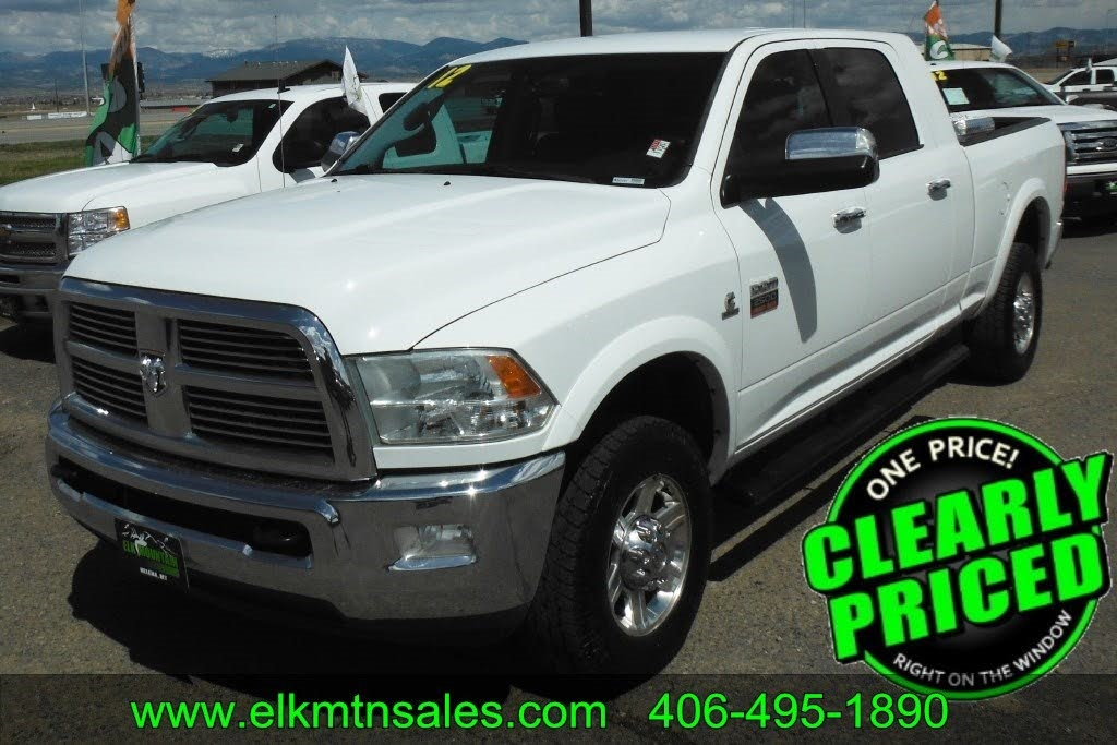 2012 RAM 2500 Laramie Mega Cab 4WD