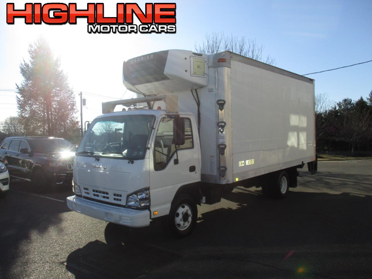 "2007 Isuzu W4S042 NPR HD DSL REG 109"" WB 14500 GVWR AT OBT AIR PWL"