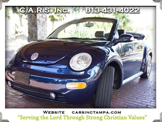 2004 Volkswagen New Beetle GLS 1.8T Turbo Convertible