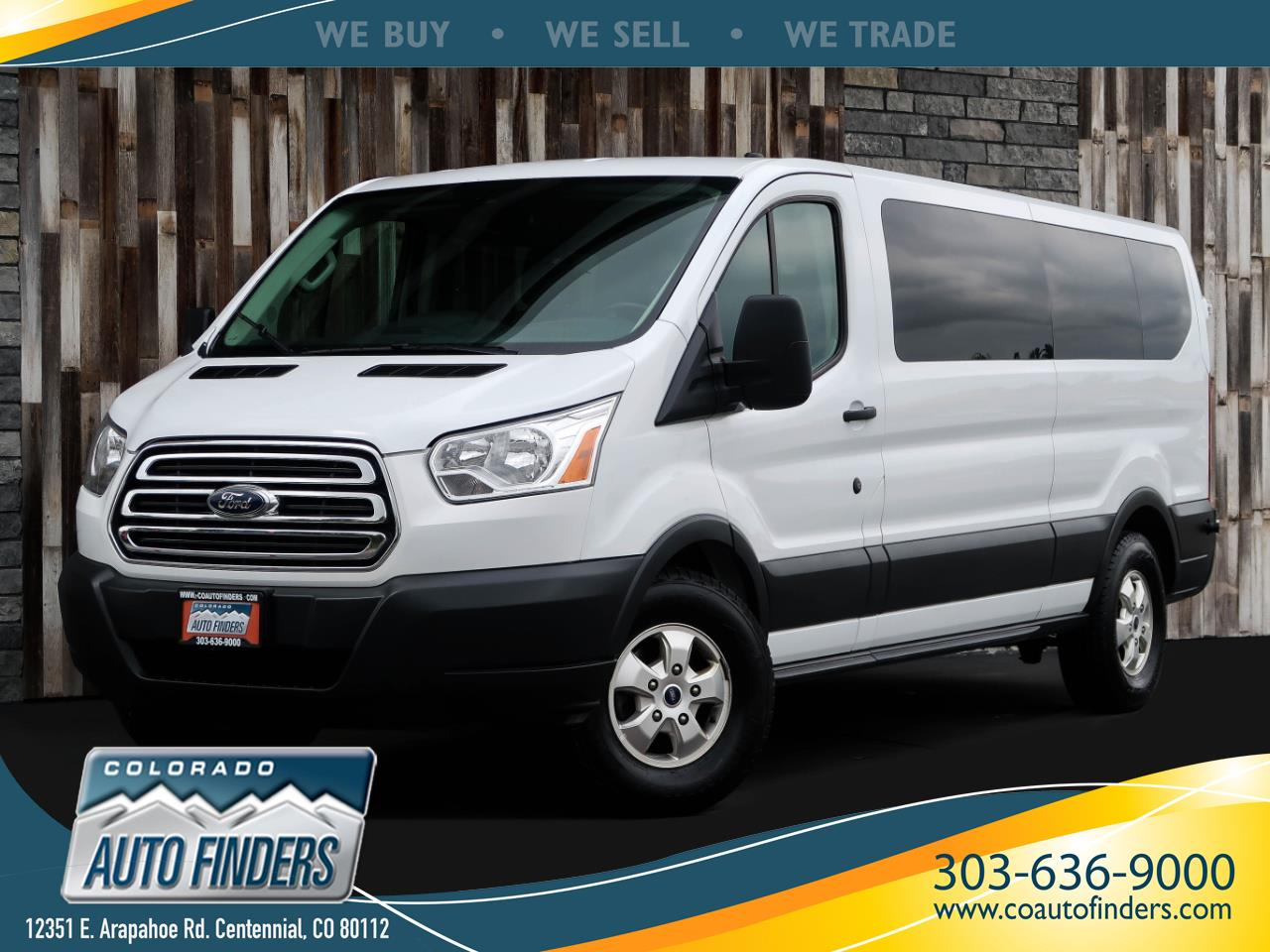 "2017 Ford Transit Wagon T-350 148"" Low Roof XLT Sliding RH Dr"