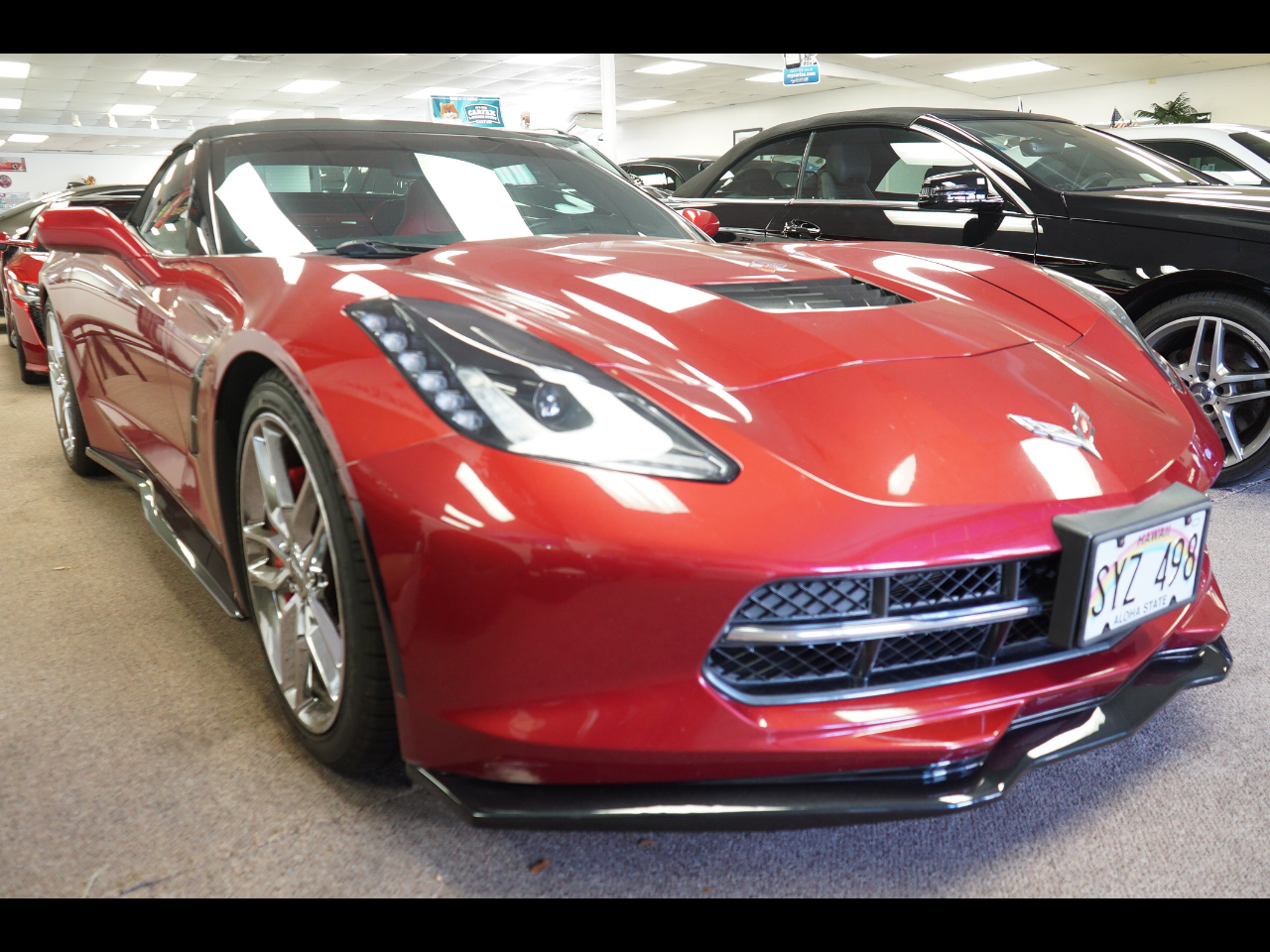 2014 Chevrolet Corvette Stingray 2dr Z51 Conv w/3LT