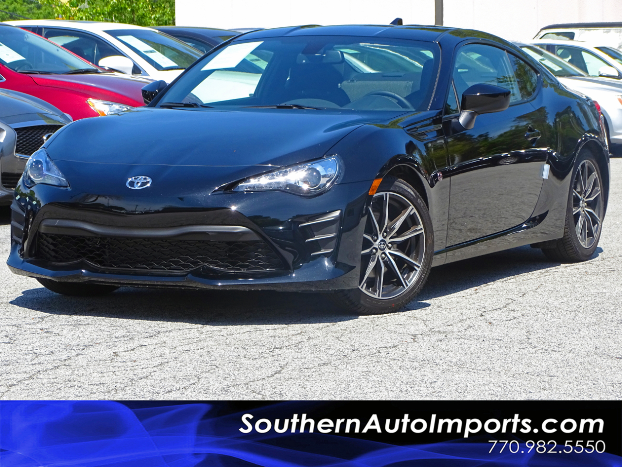 2019 Toyota 86 A/T w/Back up Camera Bluetooth Connect