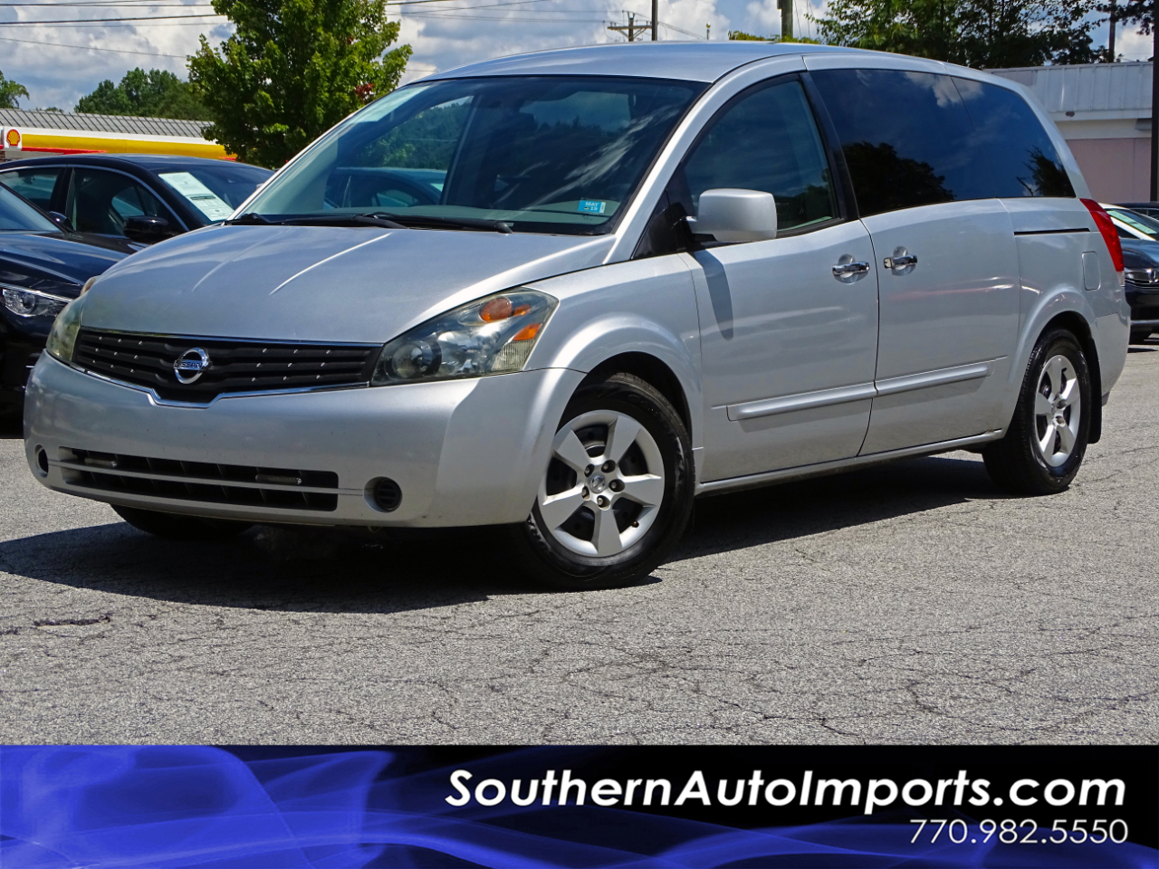 2007 Nissan Quest ENTERTAINMENT SYSTEM & 3RD ROW SEATS