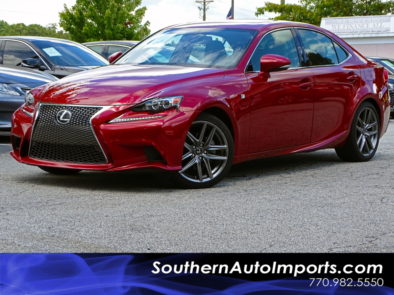 2015 Lexus IS 250 AWD F-SPORT + NAVI PKG 1-OWNER
