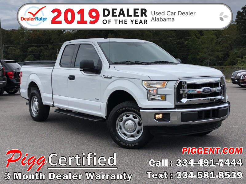 2015 Ford F-150 SUPERCAB XLT 2WD