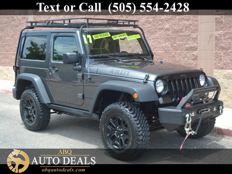 2017 Jeep Wrangler 4WD 2dr Willys Wheeler