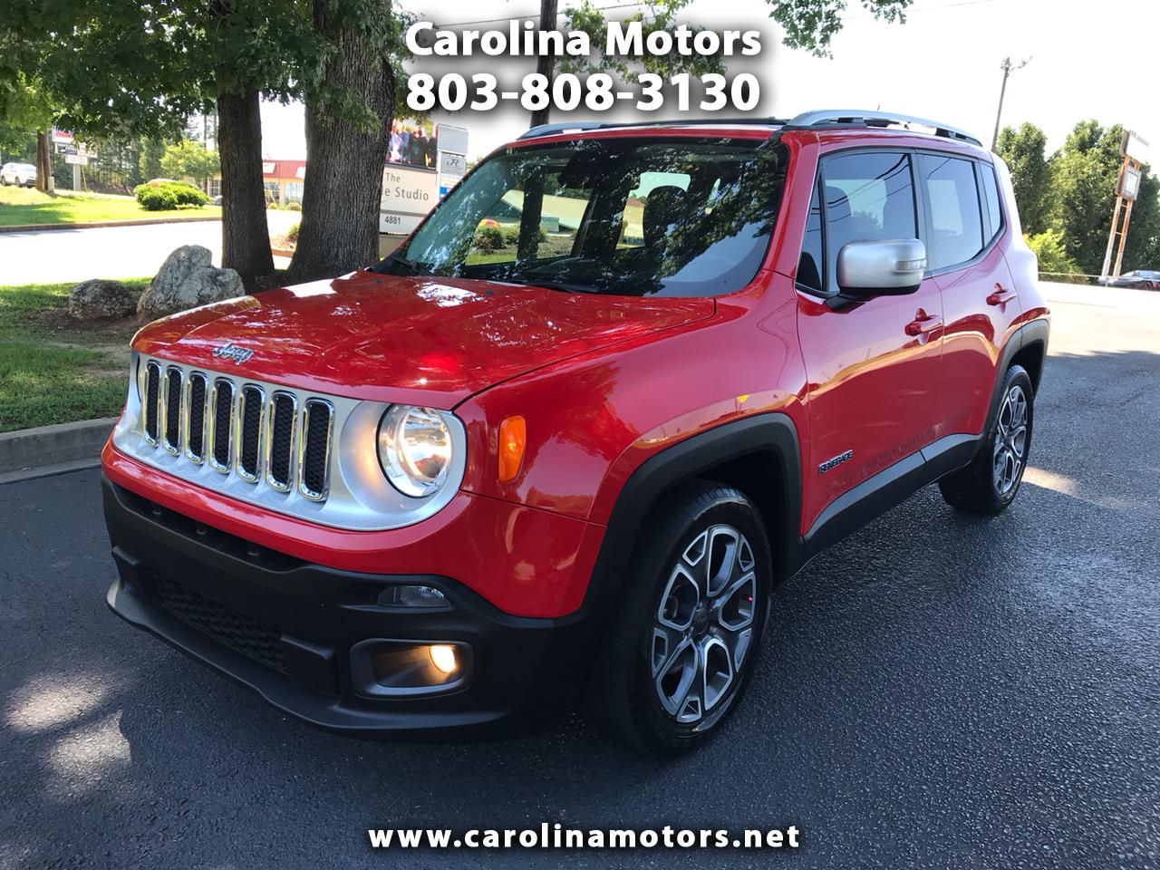 2015 Jeep Renegade Limited FWD