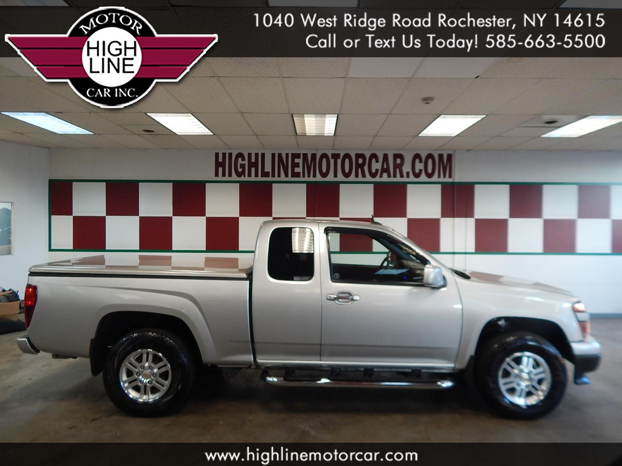"2010 Chevrolet Colorado 4WD Ext Cab 125.9"" LT w/1LT"