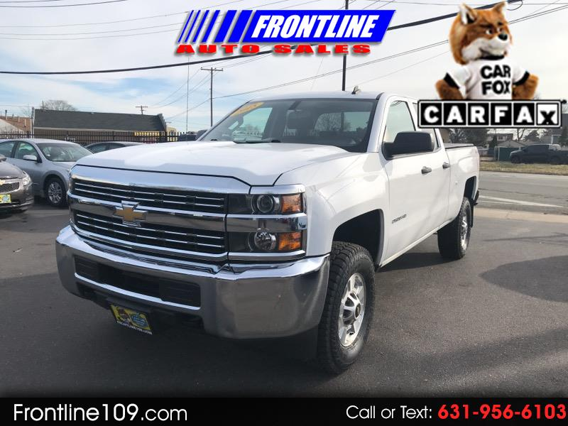 2015 Chevrolet Silverado 2500HD LT Double Cab Long Box 4WD