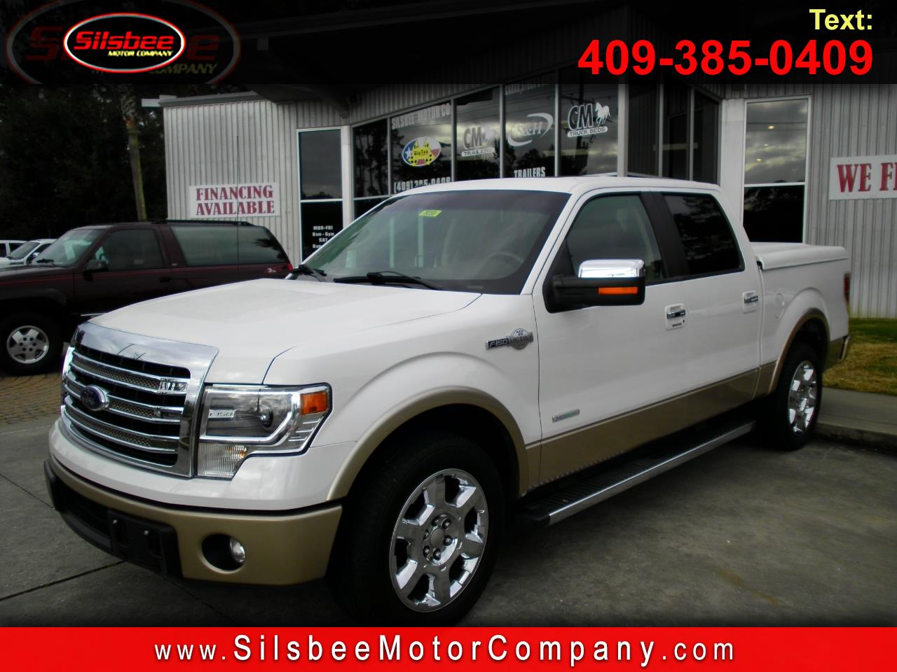 "2014 Ford F-150 2WD SuperCrew 145"" King Ranch"