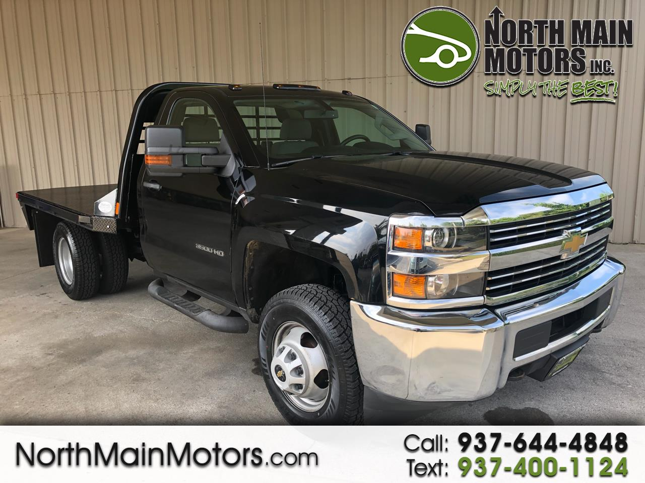"2015 Chevrolet Silverado 3500HD Built After Aug 14 4WD Reg Cab 137.5"" WB, 59.06"" CA WT"