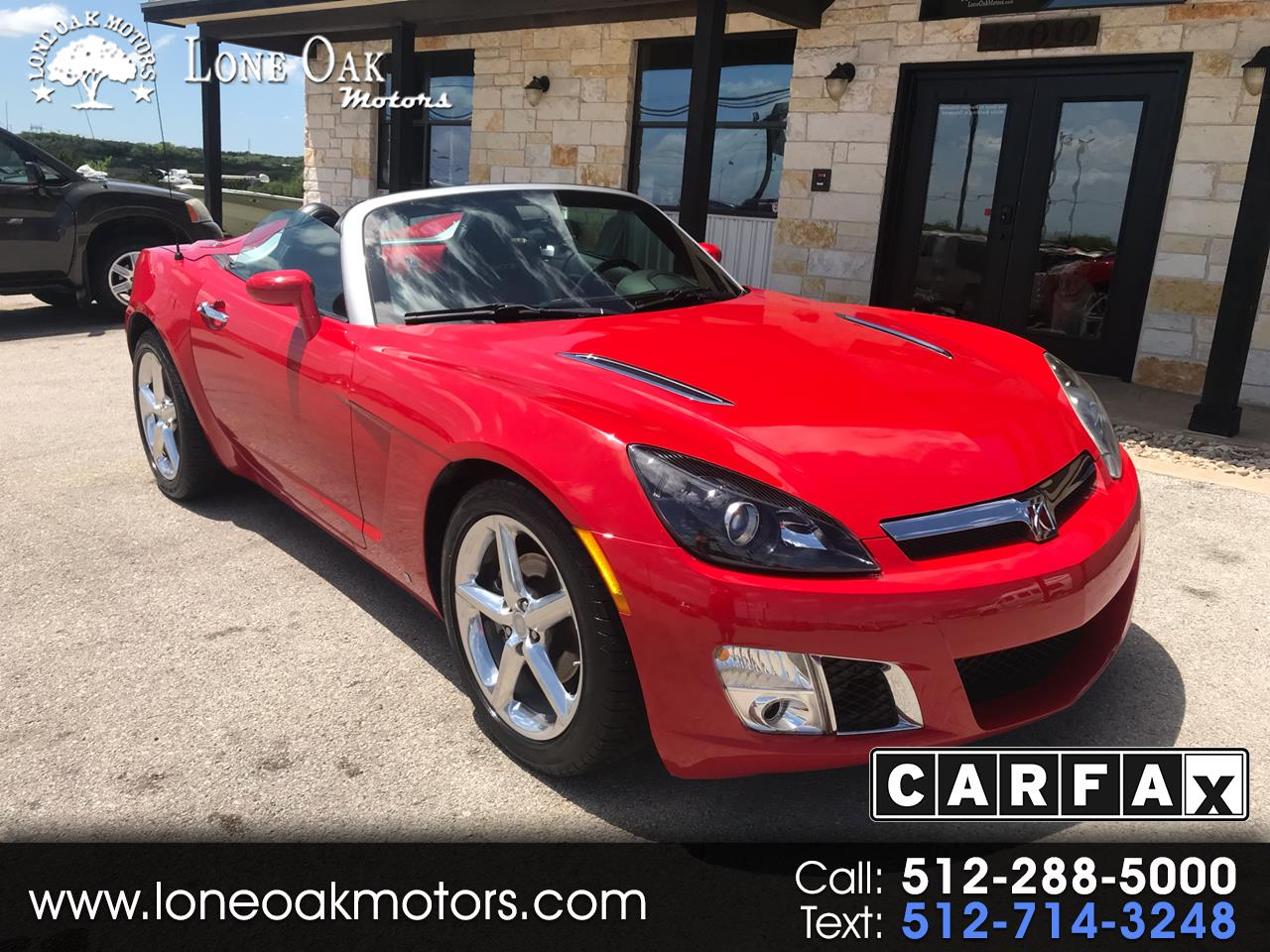 2008 Saturn Sky 2dr Conv Red Line