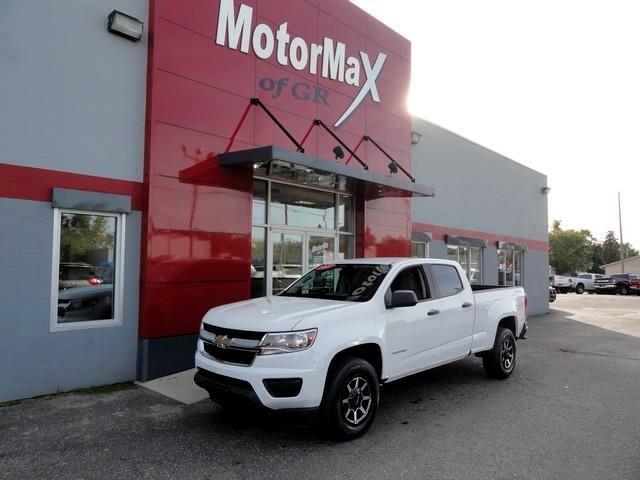 2017 Chevrolet Colorado Work Truck Crew Cab 4WD Short Box