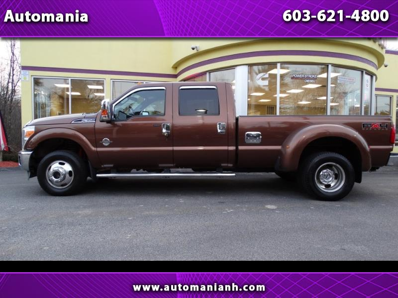 2011 Ford F-350 SD DIESEL LARIAT CREW DRW 8FT BED POWERSTROKE