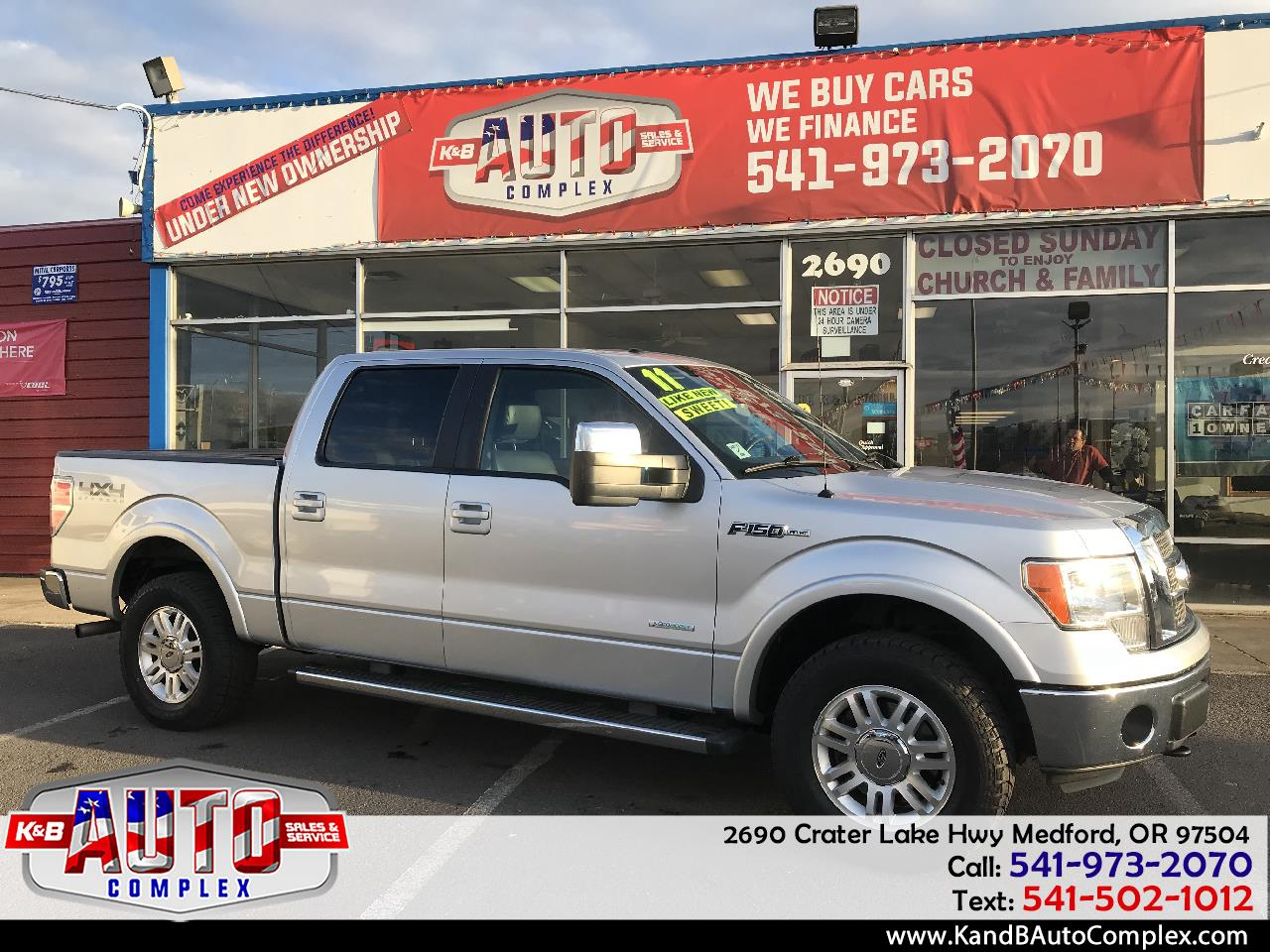 "2011 Ford F-150 4WD SuperCrew 150"" Lariat"